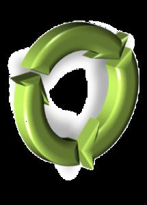 Símbolo de Ciclo Sostenible.